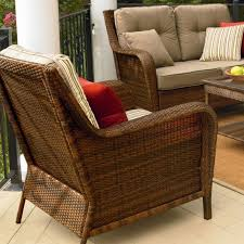 Deep Seat Patio Cushion Ty Pennington Mayfield Deep Seating Replacement Cushion Set Garden