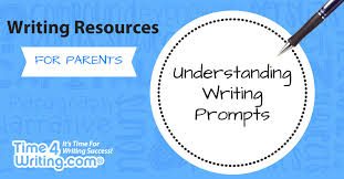 understanding writing prompts time4writing