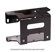 kfi products 100590 winch mount for polaris hawkeye sportsman 300