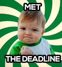 I Did It Meme - every procrastinator will totally relate to these funny deadline memes