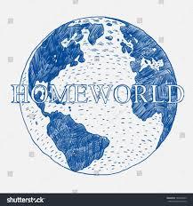 earth globe sketch stock vector 194273663 shutterstock