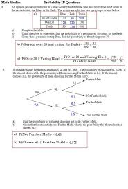 all worksheets probability worksheets with answers printable