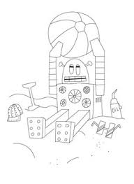 robot coloring pages printables