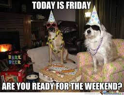 Weekend Dog Meme - are you ready for the weekend by likeaboss meme center