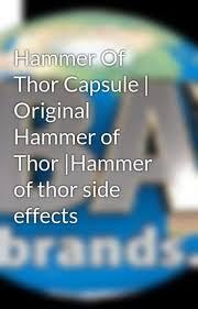 hammer of thor capsule original hammer of thor hammer of thor