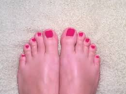 toe nail polish youtube