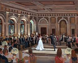 wed on canvas live event and wedding painting