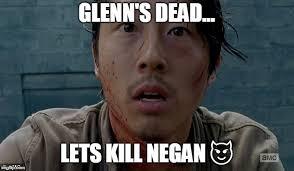 Glenn Meme - glenn twd memes imgflip