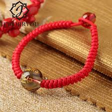 red crystal bracelet images Buy lucky red string bracelet femme red thread jpg