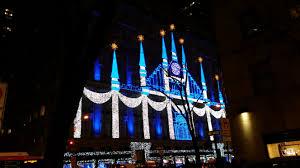 saks fifth avenue lights saks fifth avenue christmas windows 2015 lights creativejamie com