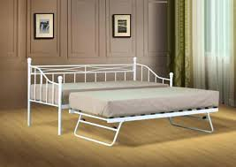 Iron Daybed With Trundle Qty White Metal Daybed Uk Daybed With Trundle White Metal White