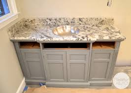 bathroom grey bathroom vanities without tops with silver sink and