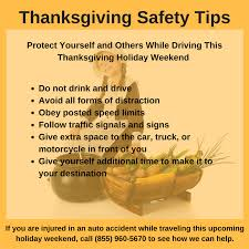 gadsden thanksgiving travel tips al personal injury lawyer