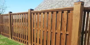 oklahoma wood wood fences oklahoma