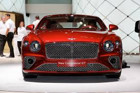 bentley mulsanne 2017 red 2018 bentley continental gt is predictably irresistible in the