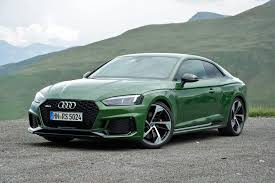 2018 audi rs 5 first drive review green with mean ultimate car