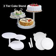 3 tier wedding cake stand wedding 3 tier cake stands ebay
