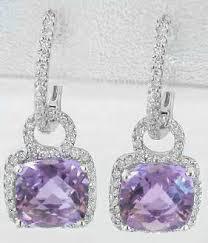 amethyst earrings amethyst earrings and blue topaz earrings myjewelrysource