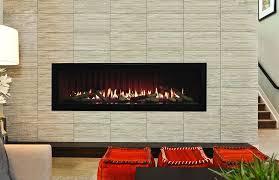Modern Outdoor Gas Fireplace by Empire Comfort Boulevard Dvll60 Linear 60