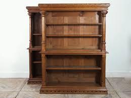 Revolving Bookshelf Gothic Style Oak Bookcases 1900s Set Of 2 For Sale At Pamono