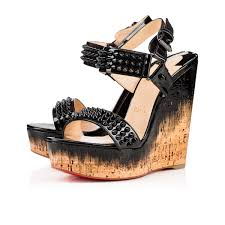 christian louboutin shoes for women wedges uk sale with lowest