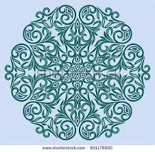 floral ornament stock vector 635202755