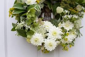wedding wreath white wedding wreath once wed