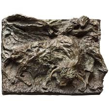 bronze sculpture in the arena by magdalena reinharez for sale at
