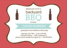 Backyard Birthday Party Invitations by Outdoor Graduation Party Ideas Bbq Picnic Luau Invitaitons