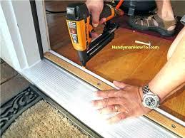 Replacing An Exterior Door Replacing Exterior Door Jamb And Threshold Juniorderby Me