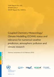 coupled chemistry meteorology climate modelling ccmm status