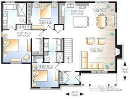 plan maison simple 3 chambres plan maison plain pied 100m2 de simple 3 chambres newsindo co du 1