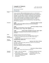 office resume templates resumes templates word sle resume template for an executive