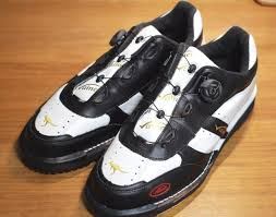 Vainer Vainer Kangaroo Leather Premium Bowling Shoes White Black Boa