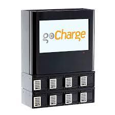 orion wall mounted charging kiosk gocharge