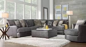 Sectional Gray Sofa Impressive Best 20 Gray Sectional Sofas Ideas On Pinterest Family