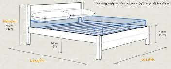 Length Of King Size Bed King Size Bed Dimensions Metric Bed Sizes Dimensions King Queen