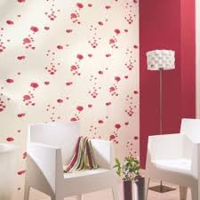 B Q Bedroom Wallpaper Poppy Cream U0026 Red Floral Wallpaper Red Wallpaper Poppy Red And