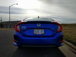 personalize plates my personalized plates just arrived 2016 honda civic forum