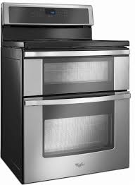 Whirlpool Induction Cooktop Reviews Whirlpool 6 7 Cu Ft Double Oven Electric Range With Induction