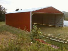 Cattle Barns Designs The Doors At The End Of The Barn Close In The Shop And A Two Pen