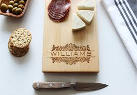 personlized gifts cheese board personalized cutting board custom name wedding