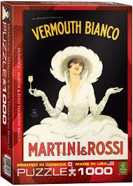 martini rossi vermouth bianco martini rossi 1000 piece puzzle athena posters