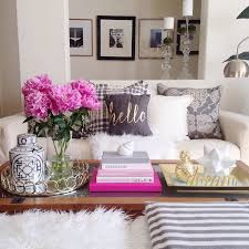 endearing living room table decor and best 25 coffee table styling