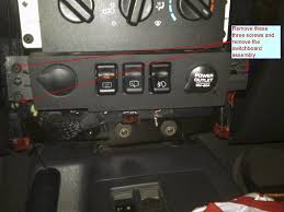 new oem 1997 2001 jeep cherokee fog light install kit fog light switch repair jeep cherokee forum