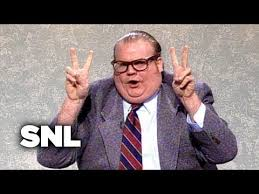 best of snl chris farley air quotes guy