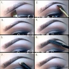 proper way to fill in eyebrows 68 best eyebrows images on pinterest make up looks threading
