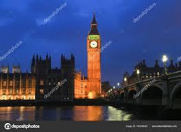 les chambres du soleil big ben et les chambres du parlement coucher de soleil nuages