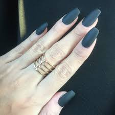 v french manicure shape w gold v line i love this color and happy