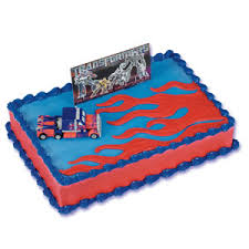 optimus prime cake topper transformers optimus prime cake topper